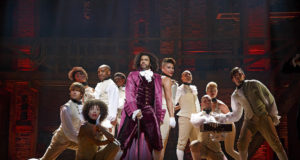 Hamilton, Broadway, Olivier Awards, ugens salgstal, musical