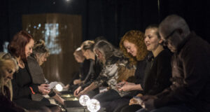 Cantabile 2's forestilling The Time Being 2.0. Foto: Waves Festival